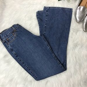 Lucky Brand Vintage 90's Peanut Pant Flare Jeans